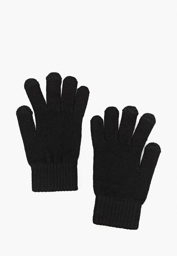 мужские перчатки mango man, черные