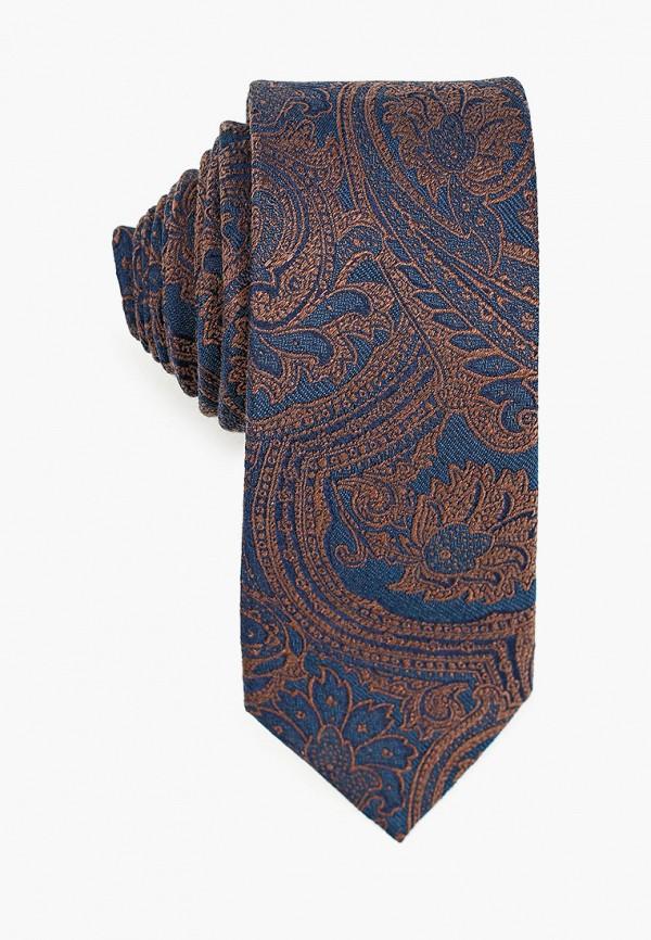 мужские галстуки и бабочки mango man, синие