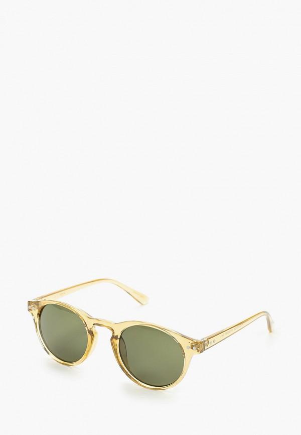 мужские солнцезащитные очки mango man, бежевые