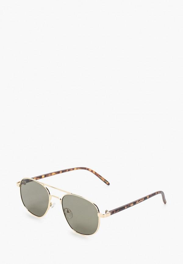 мужские солнцезащитные очки mango man, золотые