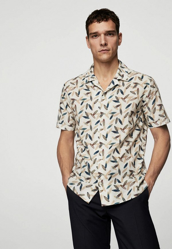 Рубашка Mango Man Mango Man HE002EMBGVU2 цена 2017