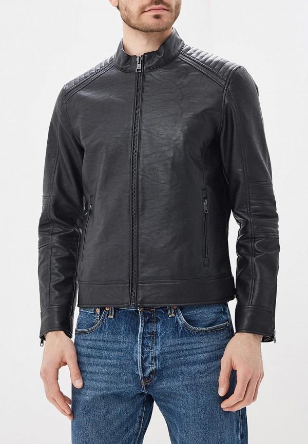 Купить Куртка кожаная Mango Man, - JOSENO, HE002EMBOVH0, черный, Осень-зима 2018/2019