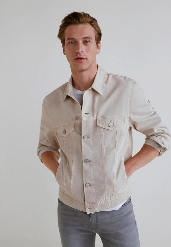 Куртка джинсовая Mango Man Mango Man HE002EMCBUL2 цена