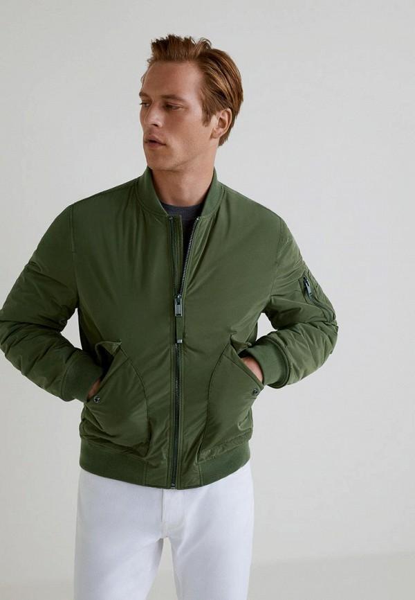 Купить Куртка утепленная Mango Man, - TOKIO, HE002EMCFMA3, хаки, Осень-зима 2018/2019