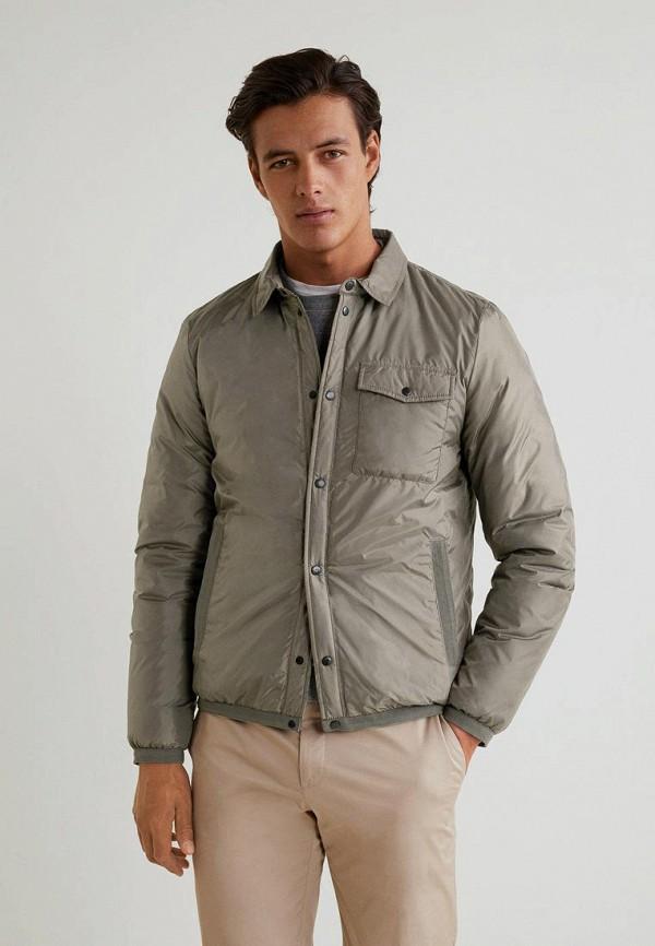 Купить Куртка утепленная Mango Man, - TAHUL, HE002EMCGJD7, серый, Осень-зима 2018/2019