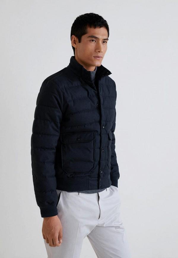 Купить Куртка утепленная Mango Man, - EVERY, HE002EMCOCN8, синий, Осень-зима 2018/2019