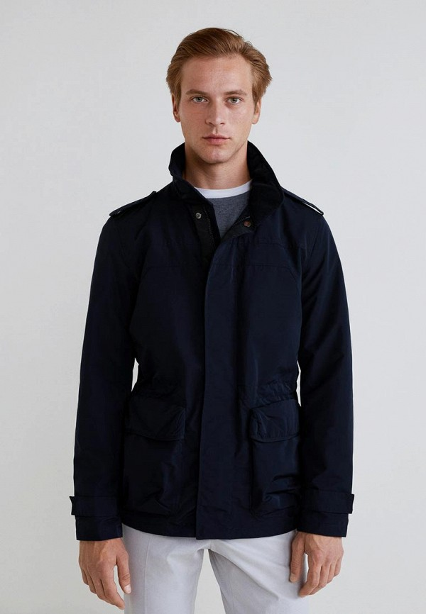Купить Куртка Mango Man, - NINET, HE002EMCOCO2, синий, Осень-зима 2018/2019