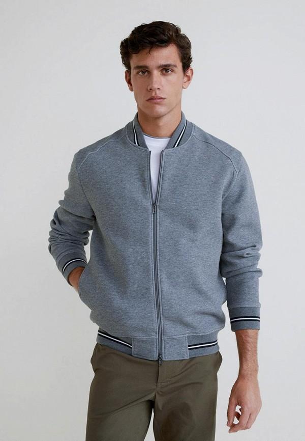 Купить Куртка Mango Man, - DAGER, HE002EMCOCT2, серый, Осень-зима 2018/2019
