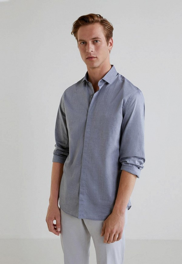 Рубашка Mango Man Mango Man HE002EMCOCT8 цена 2017