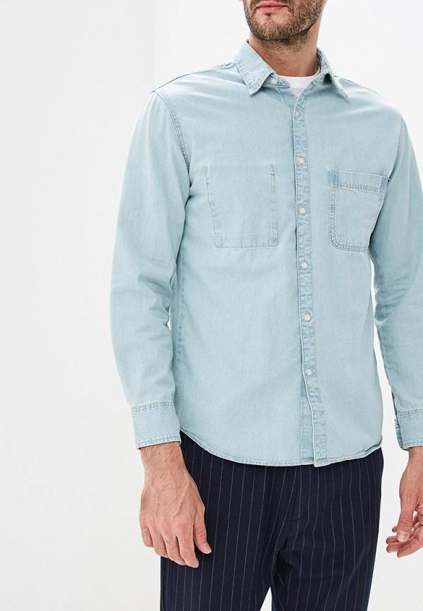 Купить Рубашка джинсовая Mango Man, - ETHAN3, HE002EMCODB0, голубой, Осень-зима 2018/2019