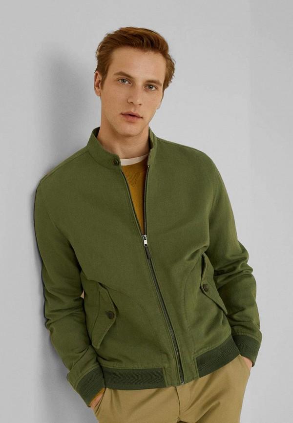 Фото - мужскую куртку Mango Man цвета хаки