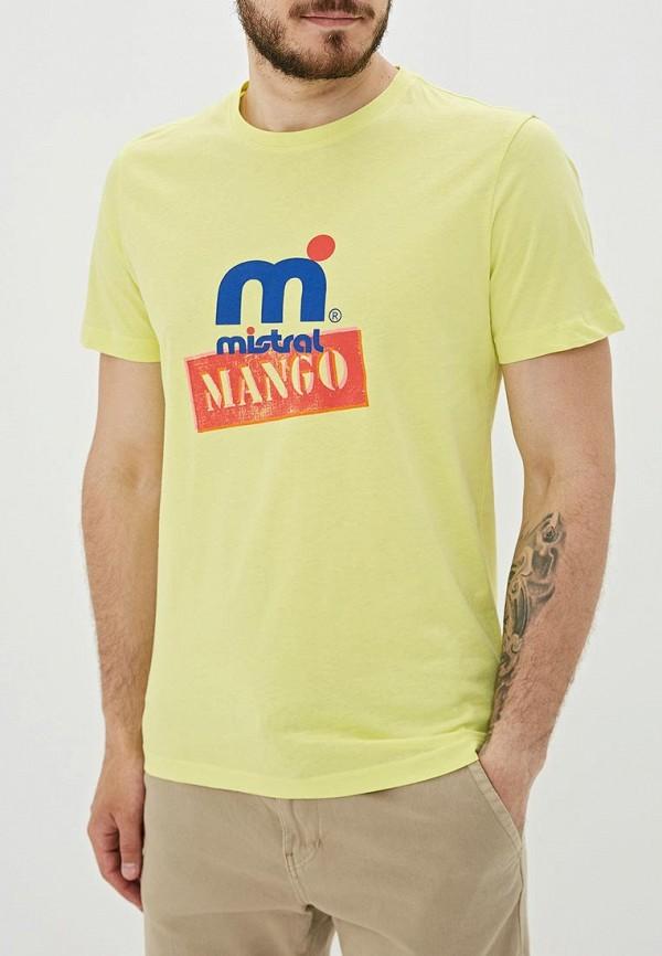 Футболка Mango Man Mango Man HE002EMFJFT3 футболка mango man mango man he002emeikb7