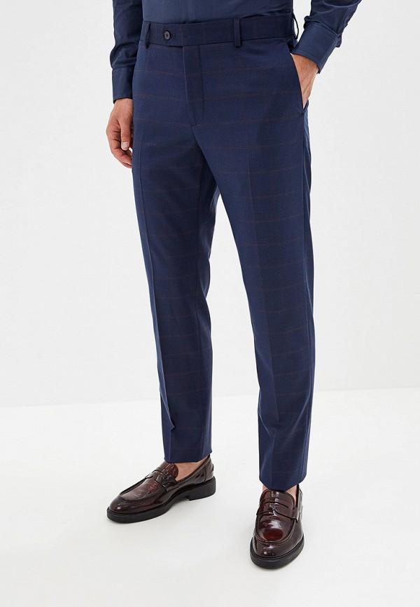 мужские классические брюки mango man, синие