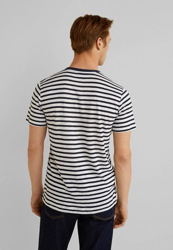 Фото 2 - мужскую футболку Mango Man белого цвета