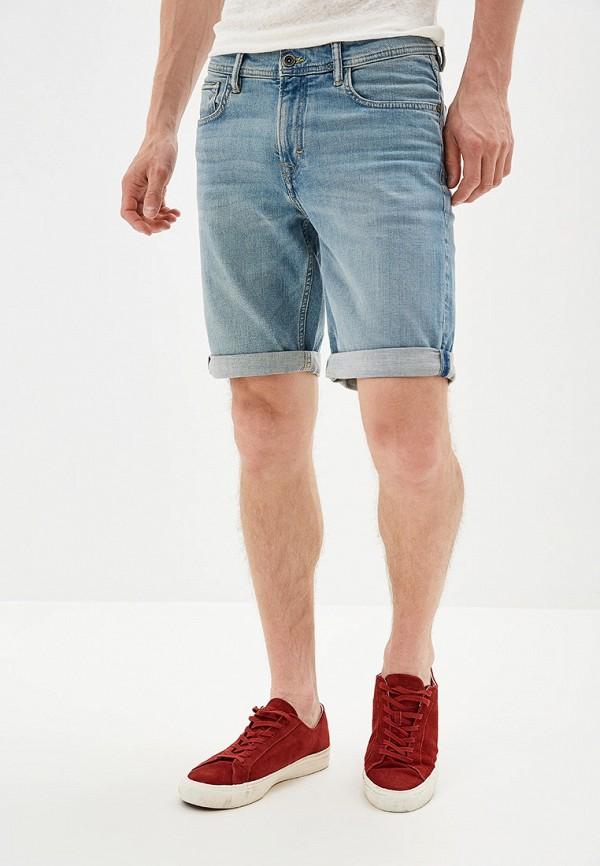 Купить Шорты джинсовые Mango Man голубого цвета