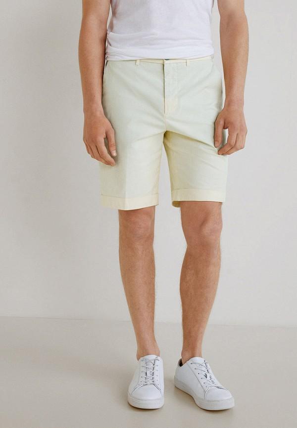 Фото - мужские шорты Mango Man желтого цвета