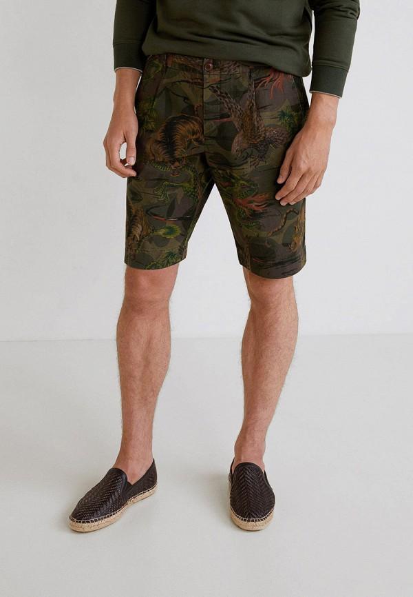 Фото - мужские шорты Mango Man цвета хаки