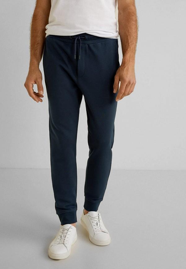 мужские спортивные брюки mango man, синие