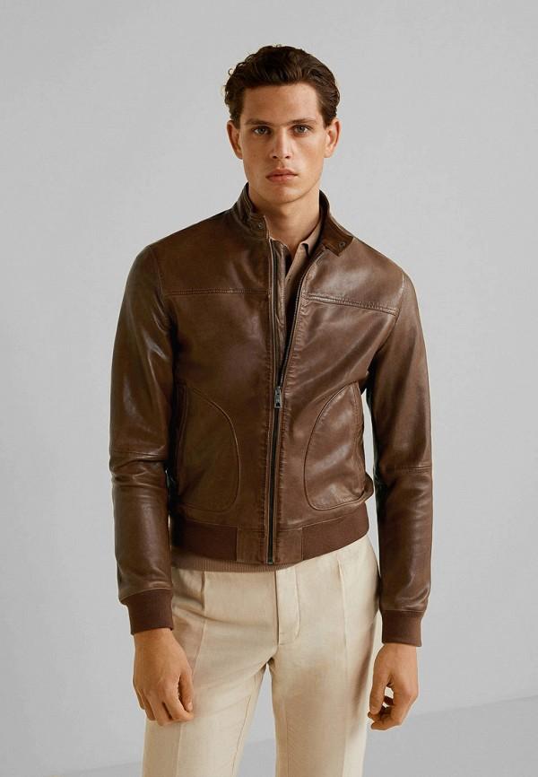 Куртка кожаная Mango Man Mango Man HE002EMFWMK0 куртка кожаная mango man mango man he002emcgjx2