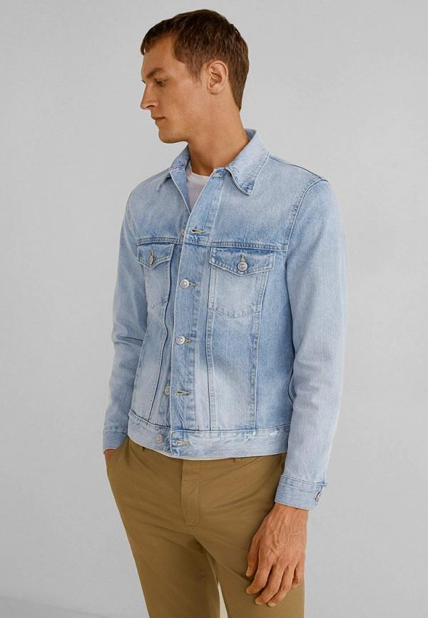 купить Куртка джинсовая Mango Man Mango Man HE002EMFWMK4 дешево