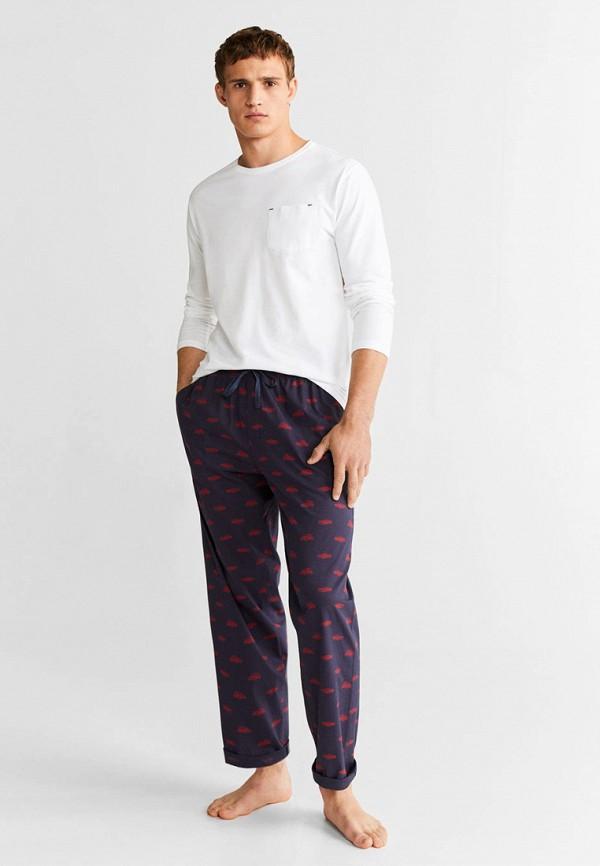 Фото 3 - Мужскую пижаму Mango Man разноцветного цвета