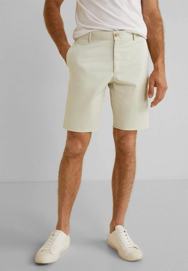 Фото - Мужские шорты Mango Man серого цвета