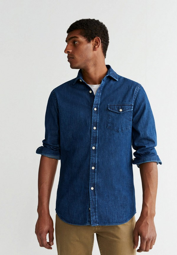 Рубашка джинсовая Mango Man Mango Man HE002EMGDHA1
