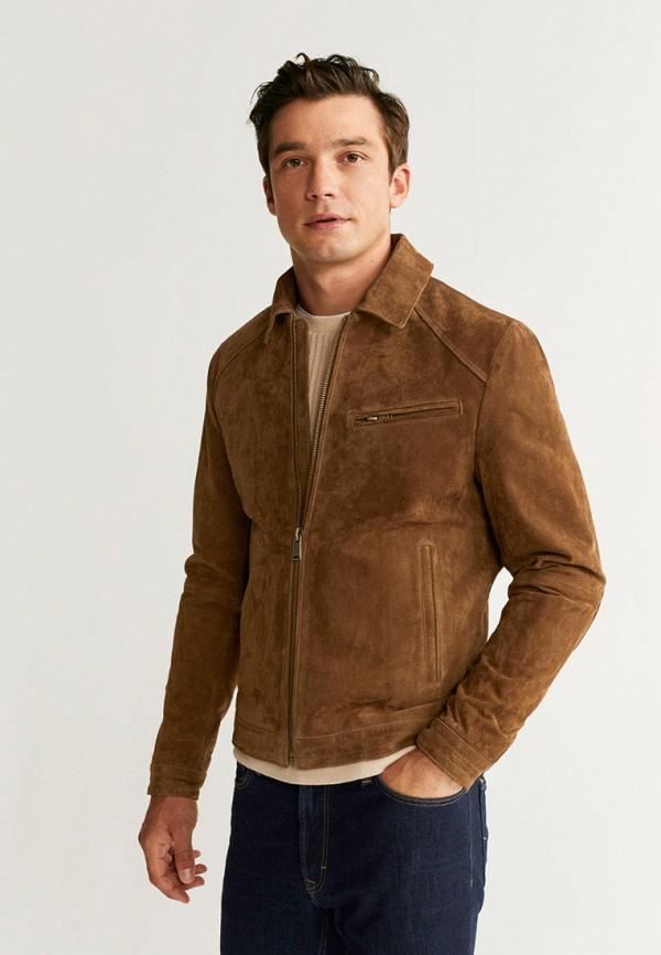 Куртка кожаная Mango Man Mango Man HE002EMGHEP7 куртка кожаная mango man mango man he002emcgjx2