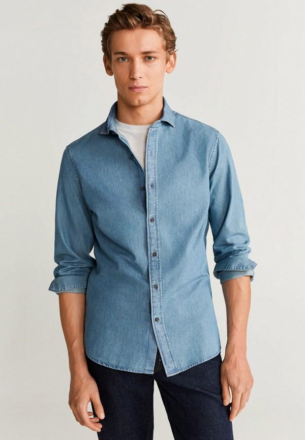 Рубашка джинсовая Mango Man Mango Man HE002EMGPAL5