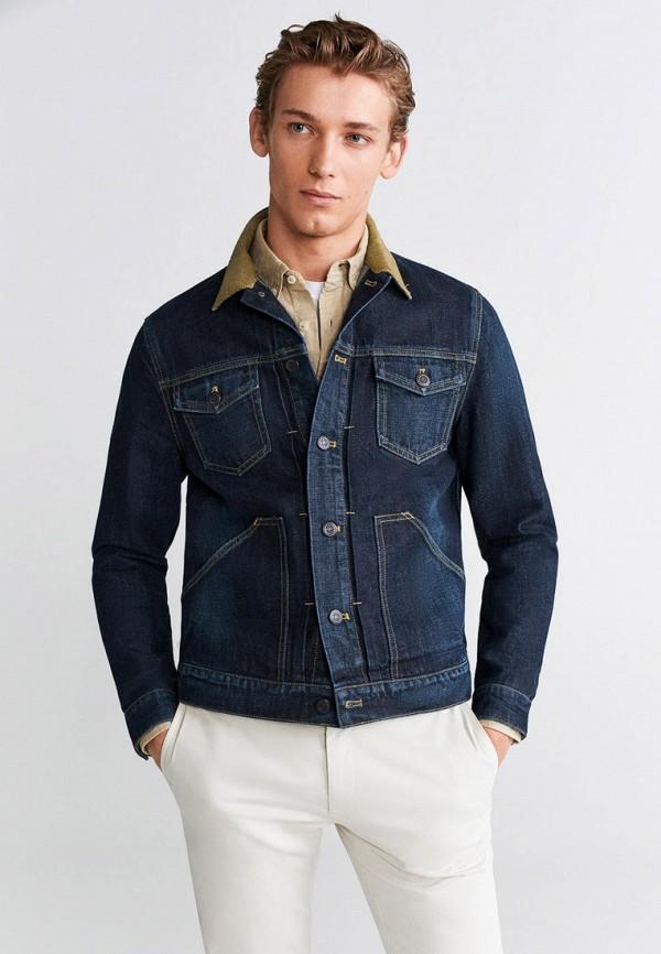 Куртка джинсовая Mango Man Mango Man HE002EMGVRK6