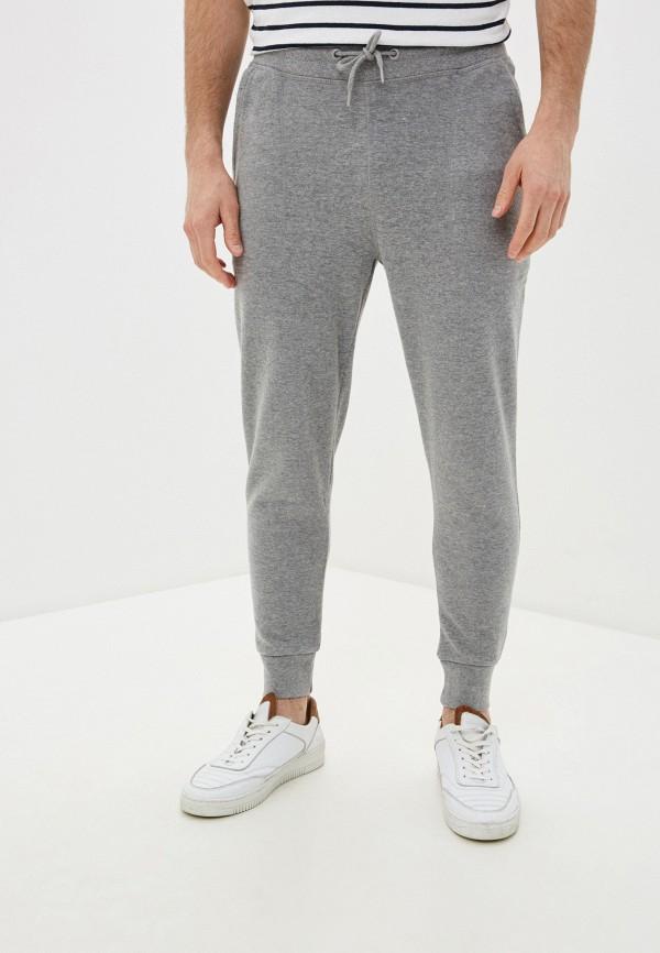 мужские брюки mango man, серые