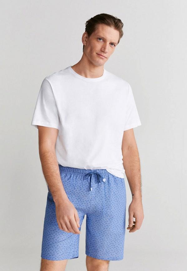 мужская пижама mango man, разноцветная