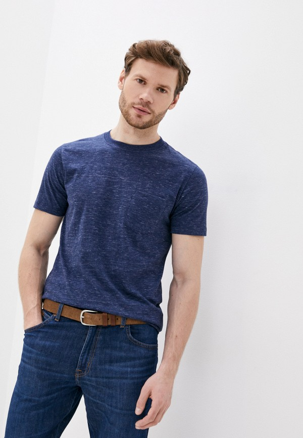 мужская футболка с коротким рукавом mango man, желтая
