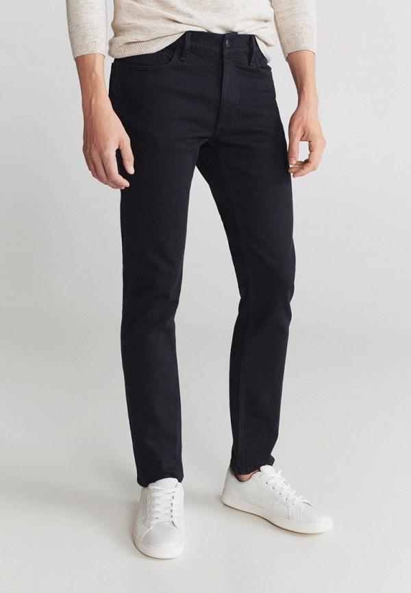 мужские зауженные джинсы mango man, серые