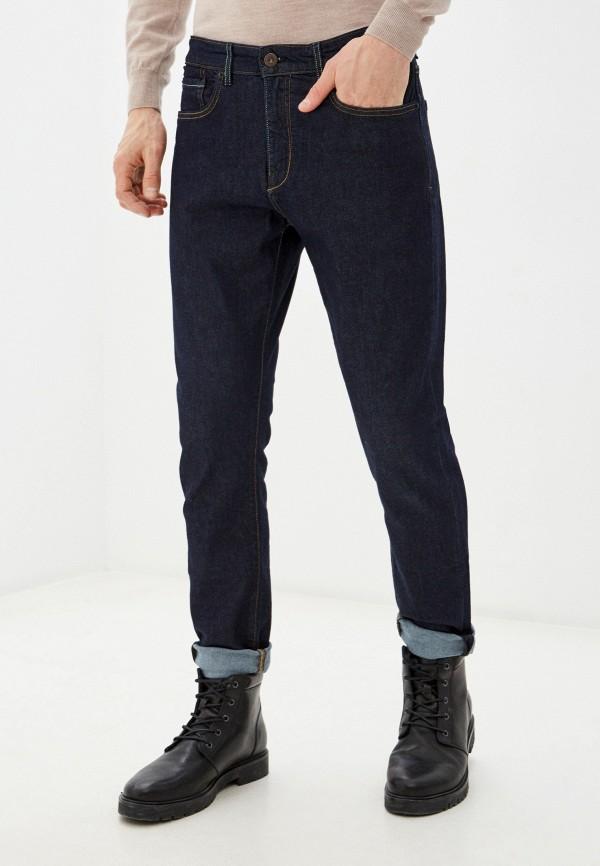 мужские прямые джинсы mango man, синие