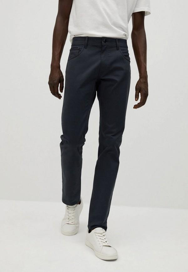 мужские брюки чинос mango man, синие