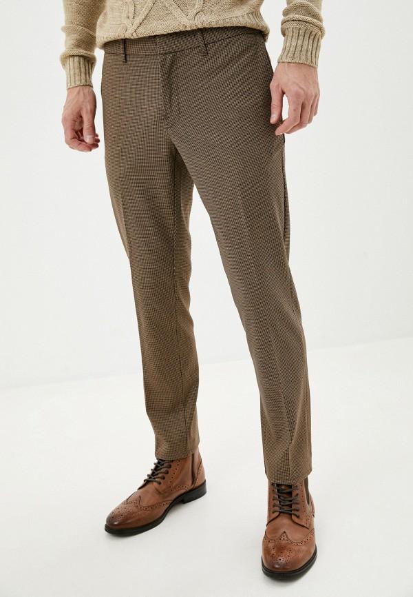 мужские классические брюки mango man, бежевые