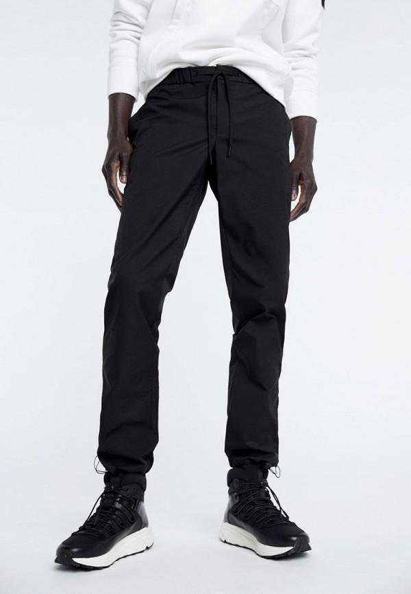 мужские брюки mango man, черные