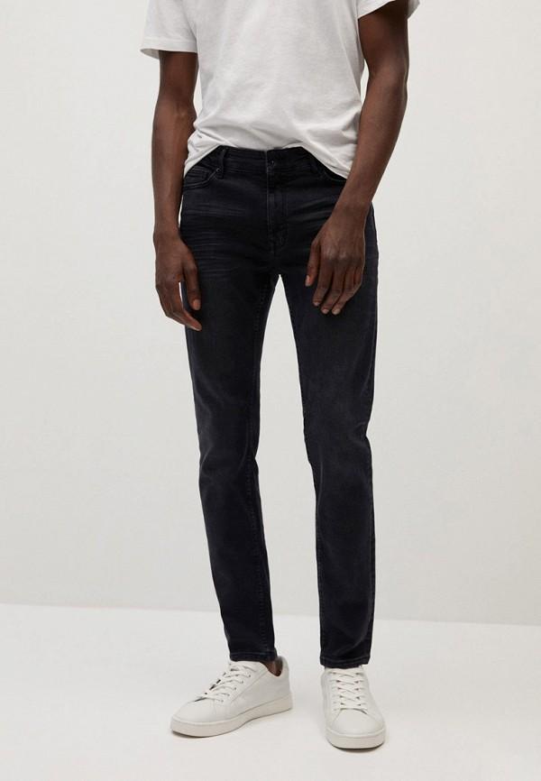 мужские прямые джинсы mango man, серые