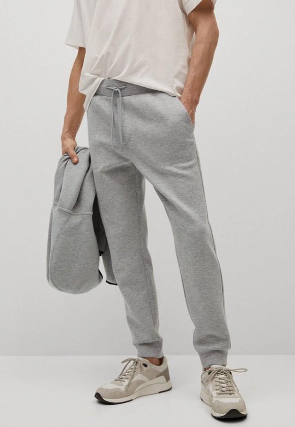 мужские спортивные брюки mango man, серые