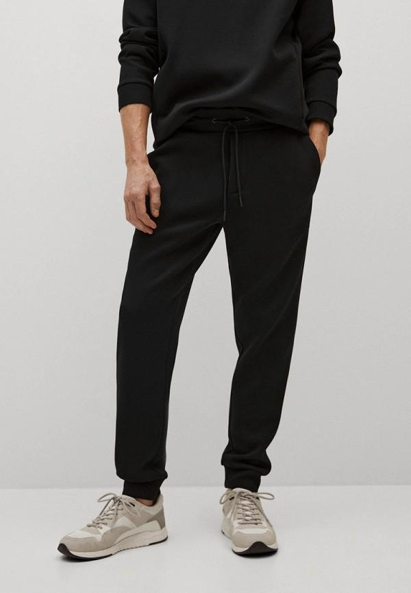 мужские спортивные брюки mango man, черные