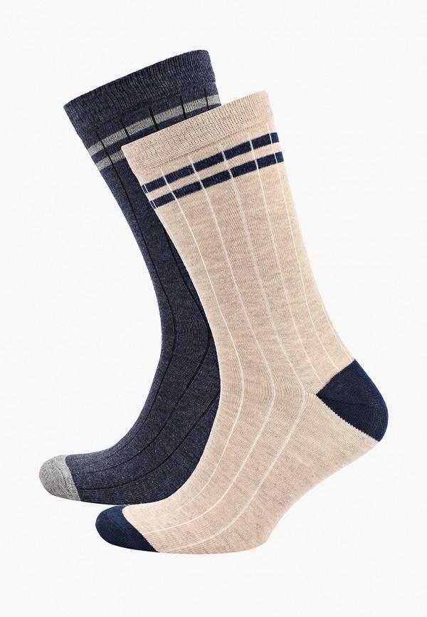 Фото - Мужские носки Mango Man разноцветного цвета