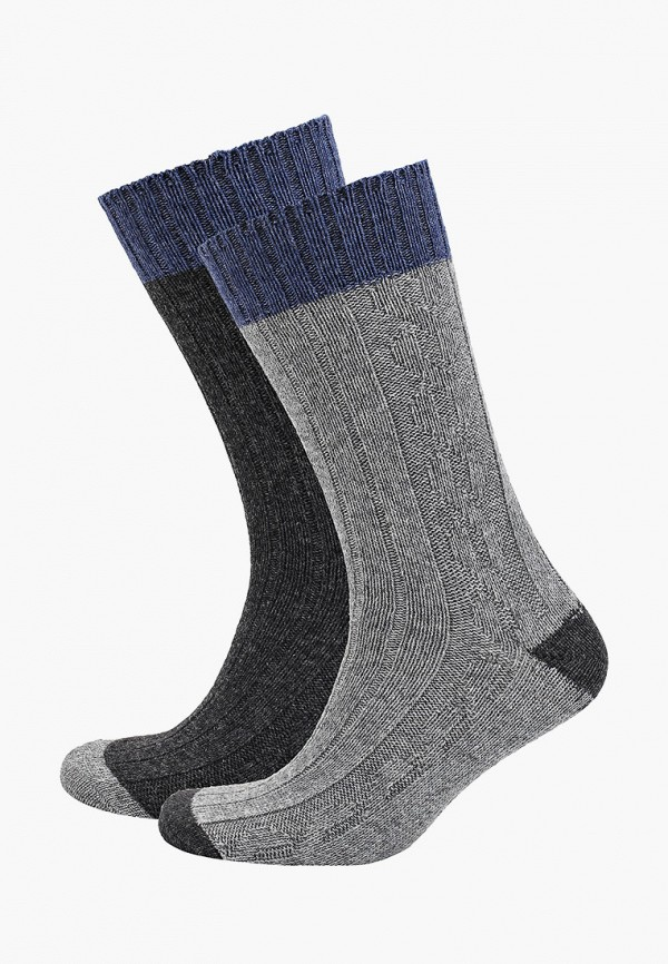 мужские носки mango man, серые