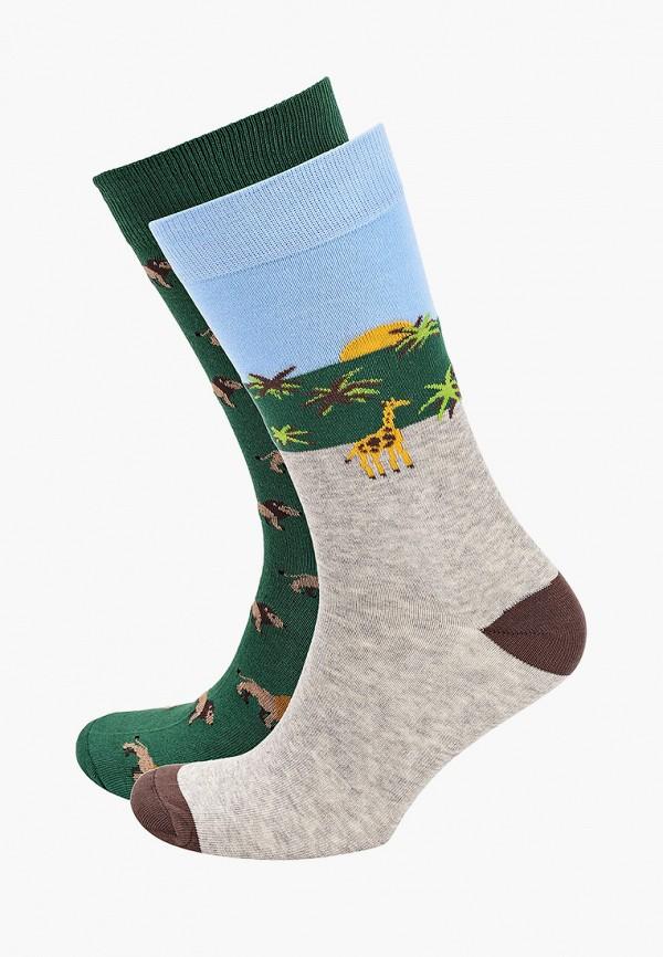 мужские носки mango man, разноцветные