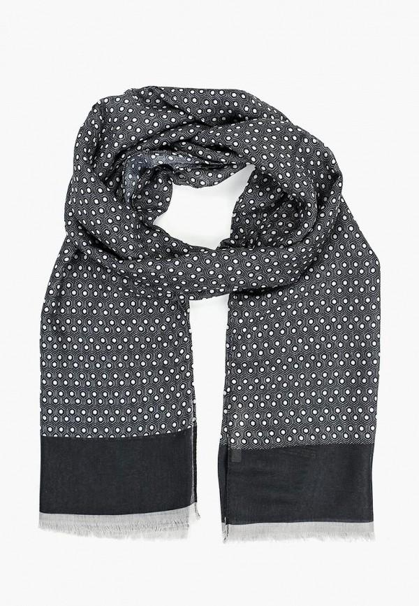 Фото - мужской шарф Mango Man серого цвета