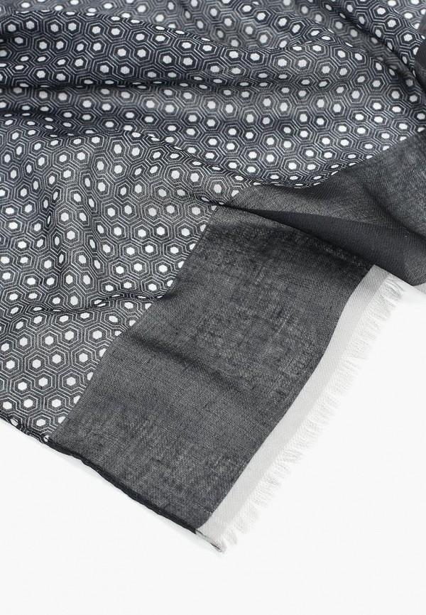 Фото 2 - мужской шарф Mango Man серого цвета