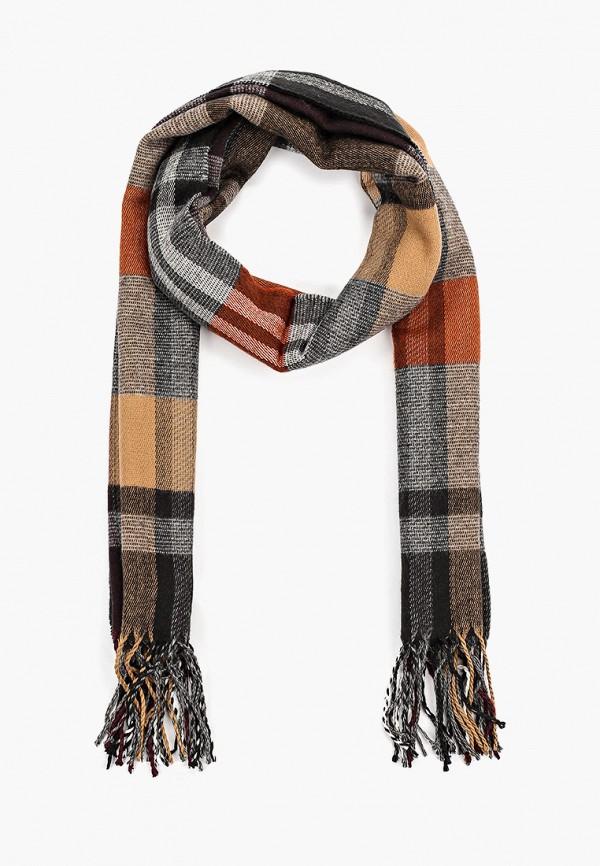 Фото - мужской шарф Mango Man коричневого цвета