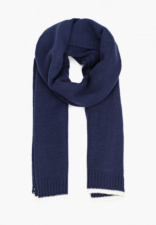мужской шарф mango man, синий