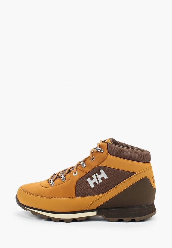 мужские высокие ботинки helly hansen, коричневые