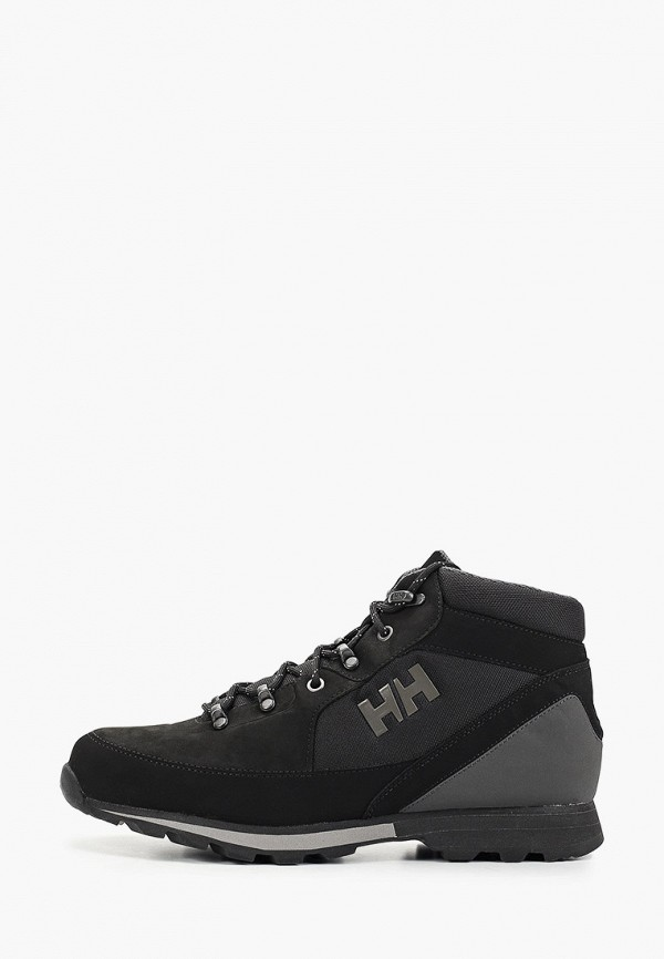 мужские высокие ботинки helly hansen, черные